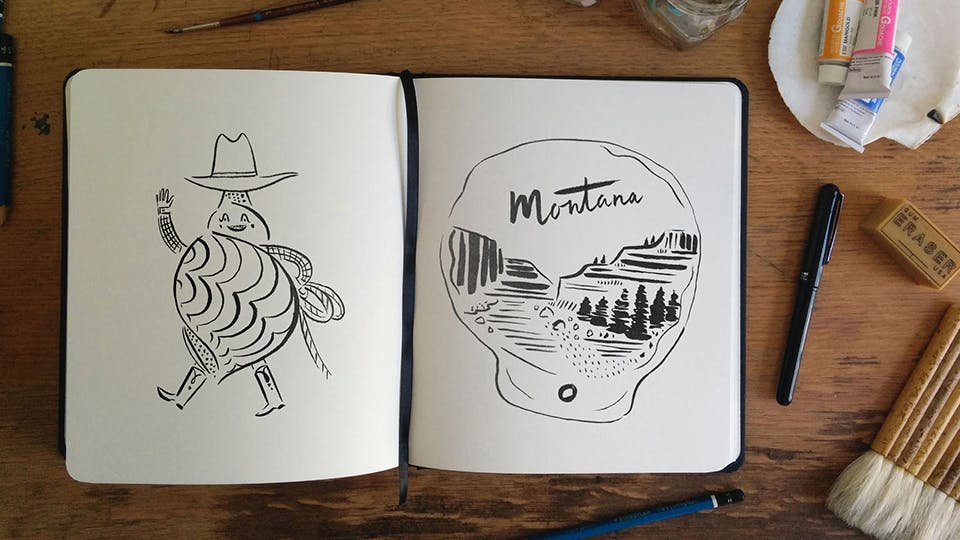 Get Inspired: Four Tips To Get you Drawing Again | The Journal